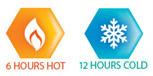 Contigo Byron 6 saat sıcak, 12 saat soğuk tutar